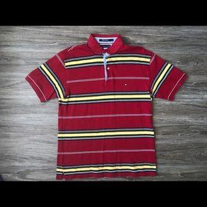 Vintage Tommy Hilfiger 80s Logo Large Shirt